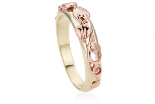 CLOGAU GOLD Tree of Life Ring 9ct Gold - ILR